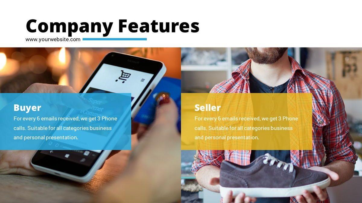 Shoppy - Ecommerce Powerpoint Template, Slide 7, 06264, Business Models — PoweredTemplate.com