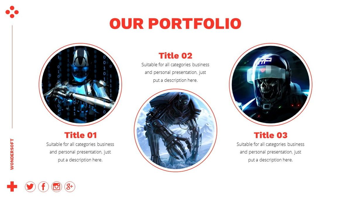 Wondersoft - Gaming Powerpoint Template, Slide 10, 06266, Data Driven Diagrams and Charts — PoweredTemplate.com
