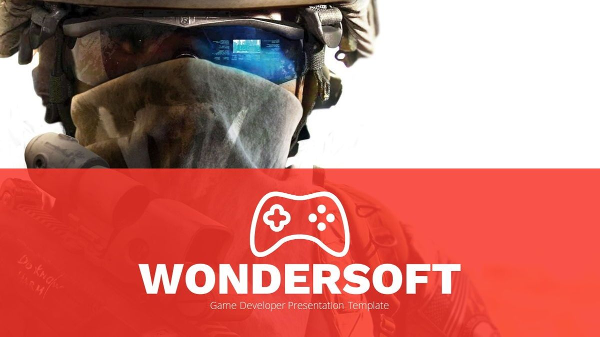 Wondersoft - Gaming Powerpoint Template, Slide 2, 06266, Data Driven Diagrams and Charts — PoweredTemplate.com