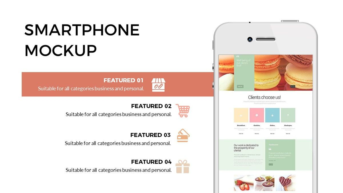 Foodlish - Food Powerpoint Template, Slide 18, 06268, Data Driven Diagrams and Charts — PoweredTemplate.com