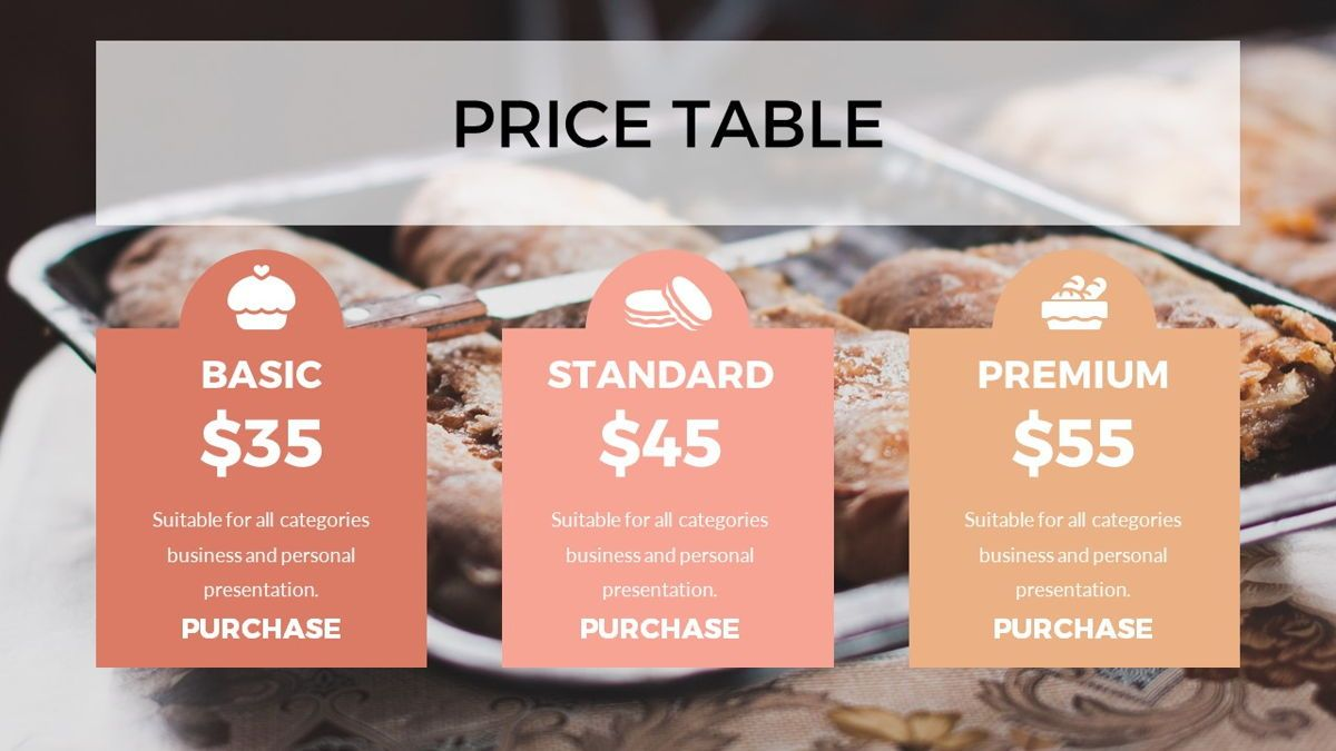 Foodlish - Food Powerpoint Template, Slide 22, 06268, Data Driven Diagrams and Charts — PoweredTemplate.com