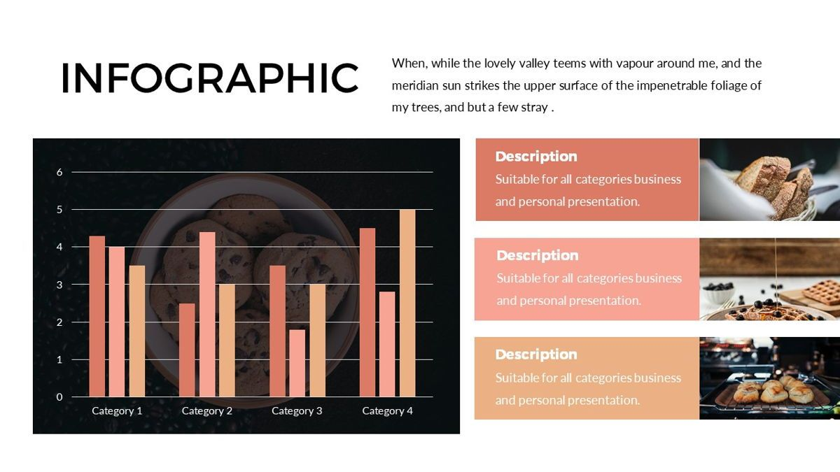 Foodlish - Food Powerpoint Template, Slide 23, 06268, Data Driven Diagrams and Charts — PoweredTemplate.com