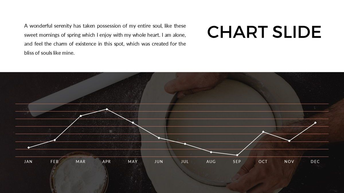 Foodlish - Food Powerpoint Template, Slide 25, 06268, Data Driven Diagrams and Charts — PoweredTemplate.com