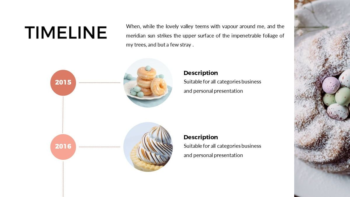 Foodlish - Food Powerpoint Template, Slide 8, 06268, Data Driven Diagrams and Charts — PoweredTemplate.com