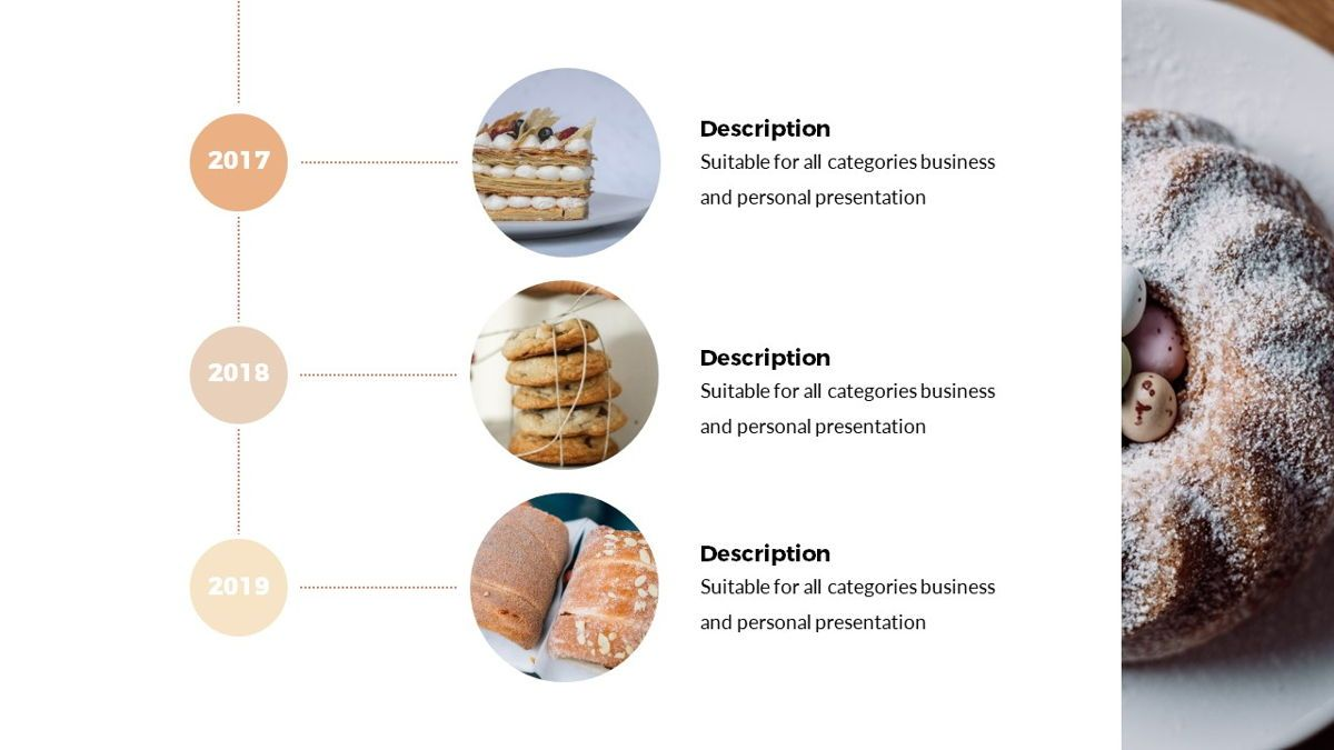 Foodlish - Food Powerpoint Template, Slide 9, 06268, Data Driven Diagrams and Charts — PoweredTemplate.com