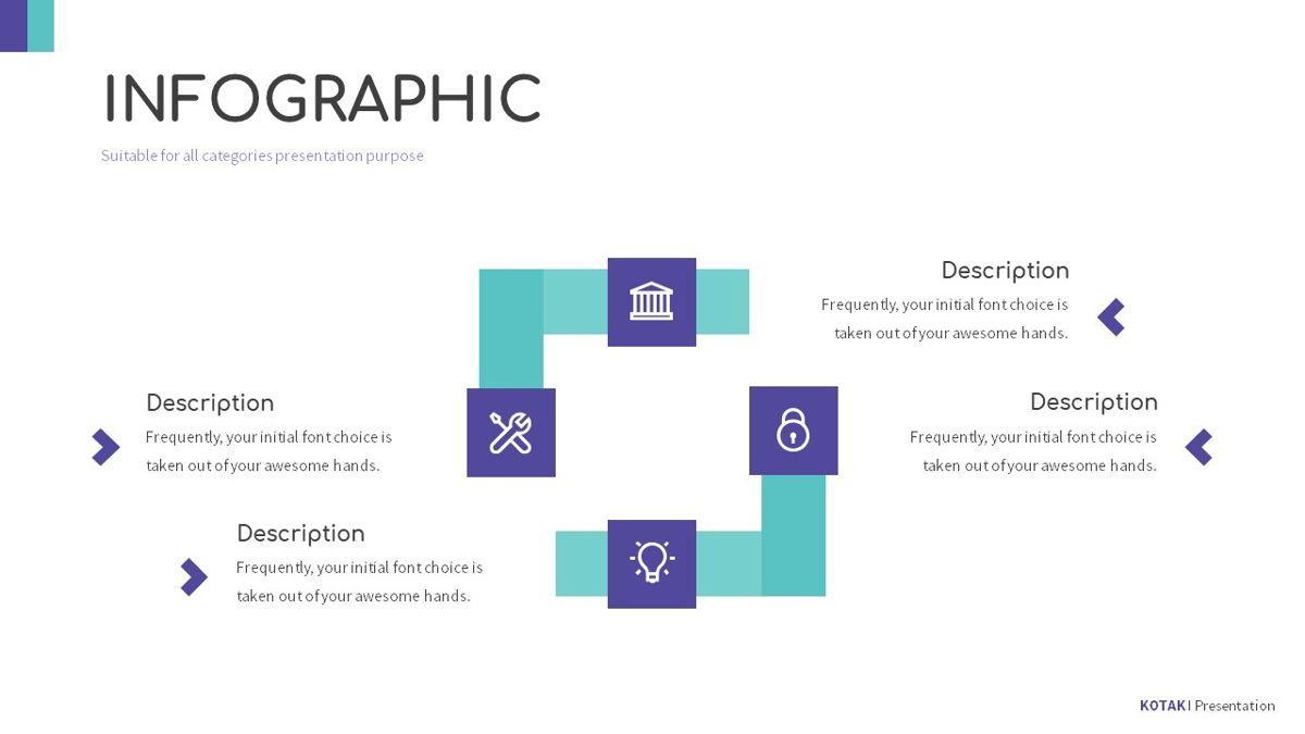 Kotak - Geometrics Powerpoint Template, Slide 23, 06270, Business Models — PoweredTemplate.com