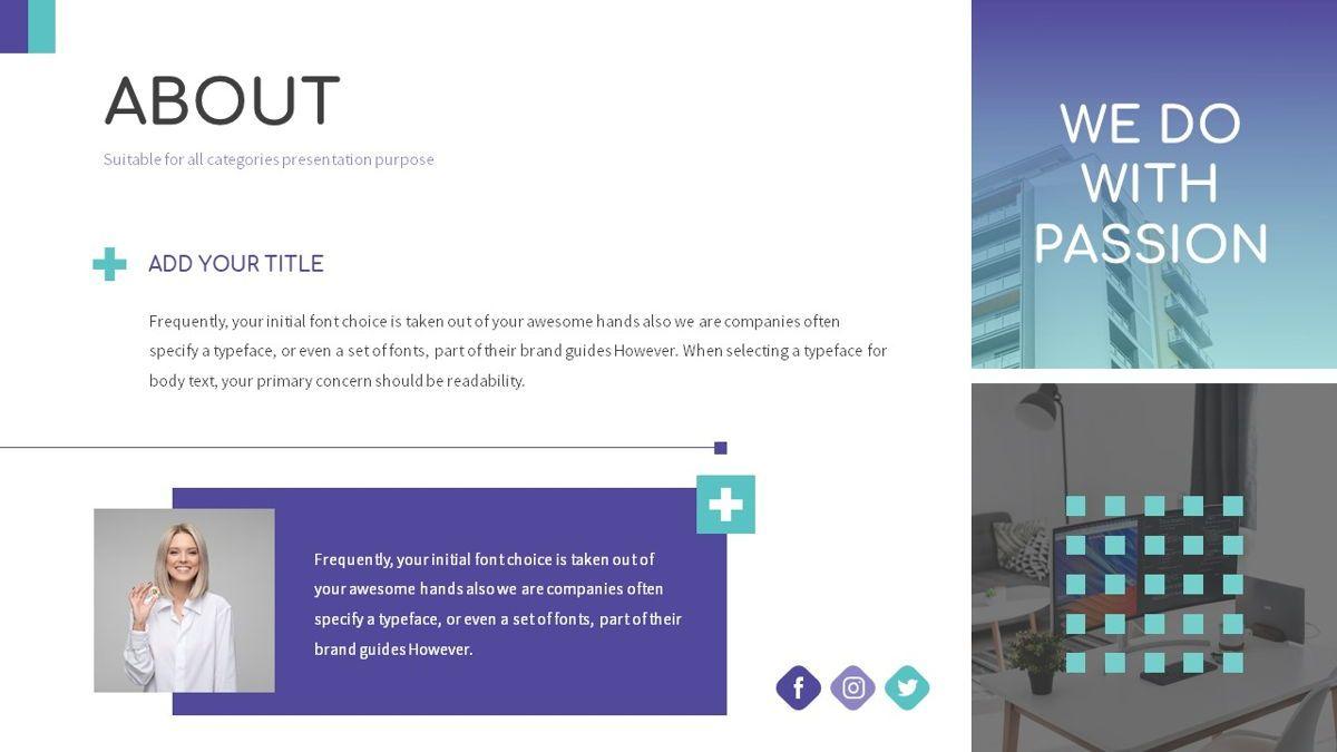Kotak - Geometrics Powerpoint Template, Slide 5, 06270, Business Models — PoweredTemplate.com