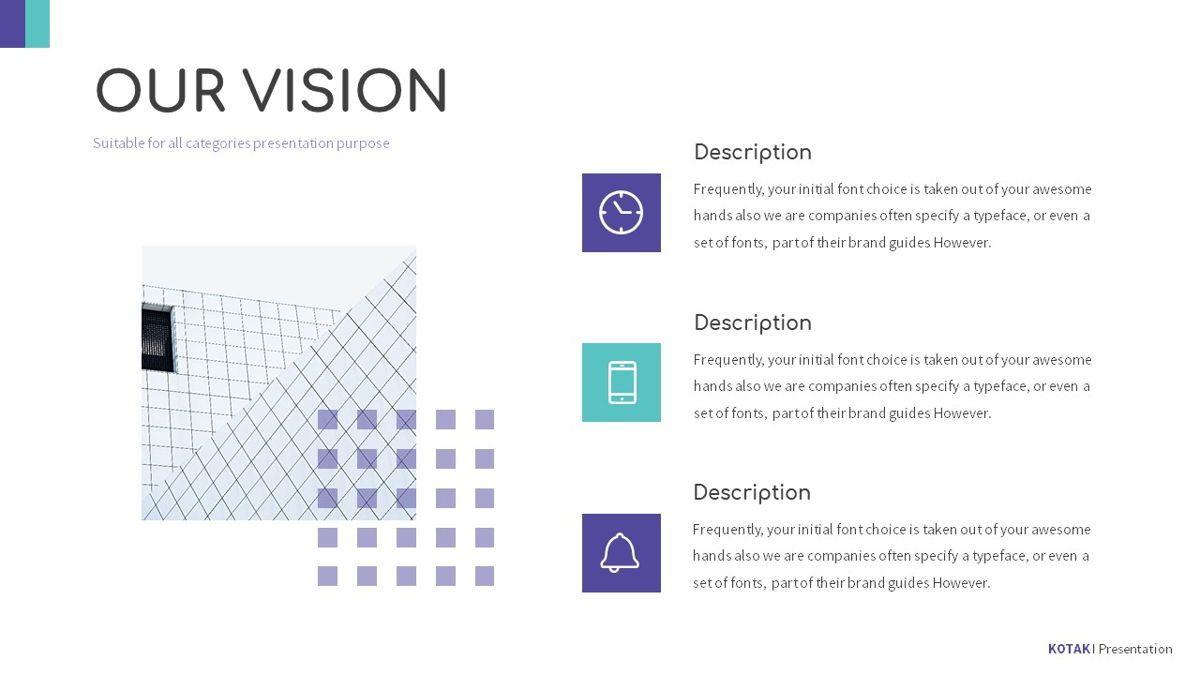 Kotak - Geometrics Powerpoint Template, Slide 7, 06270, Business Models — PoweredTemplate.com