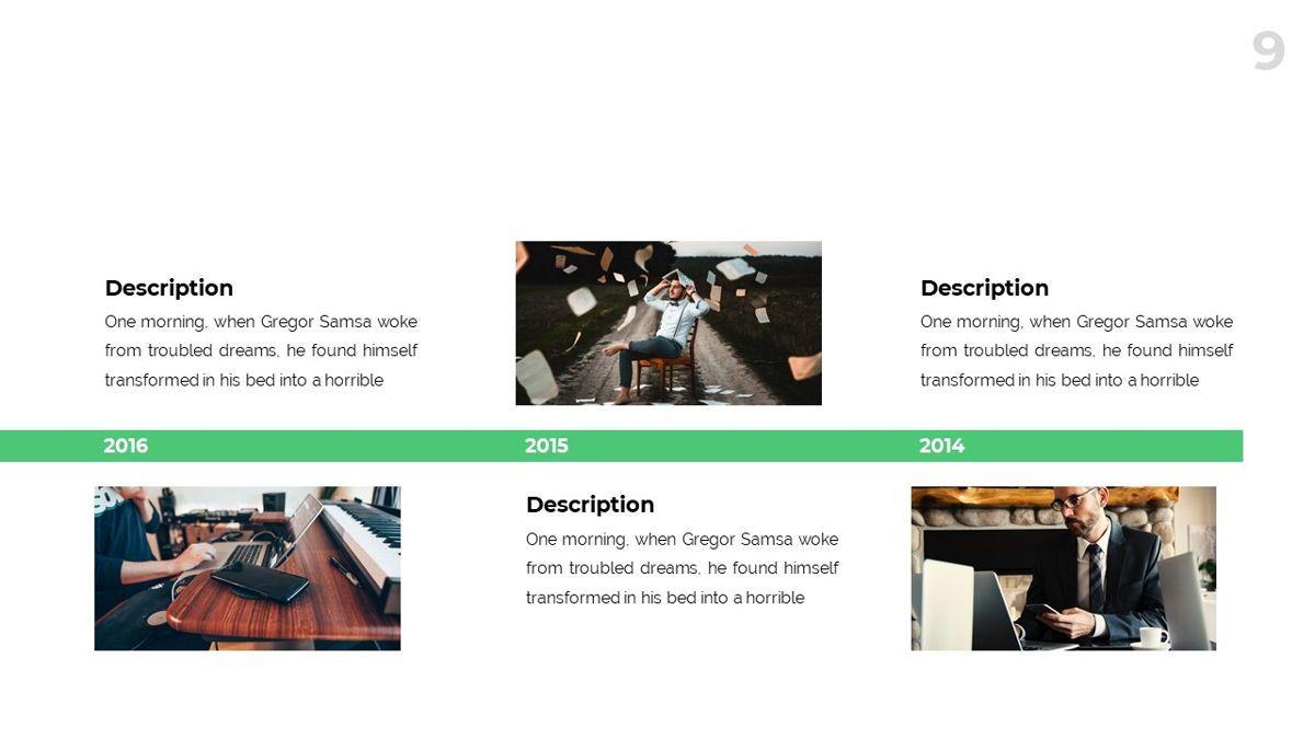 Spectrum - Corporate Powerpoint Template, Slide 10, 06276, Business Models — PoweredTemplate.com