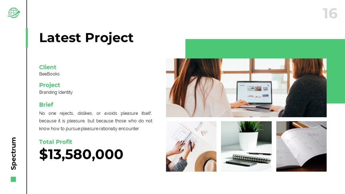 Spectrum - Corporate Powerpoint Template, Slide 17, 06276, Business Models — PoweredTemplate.com
