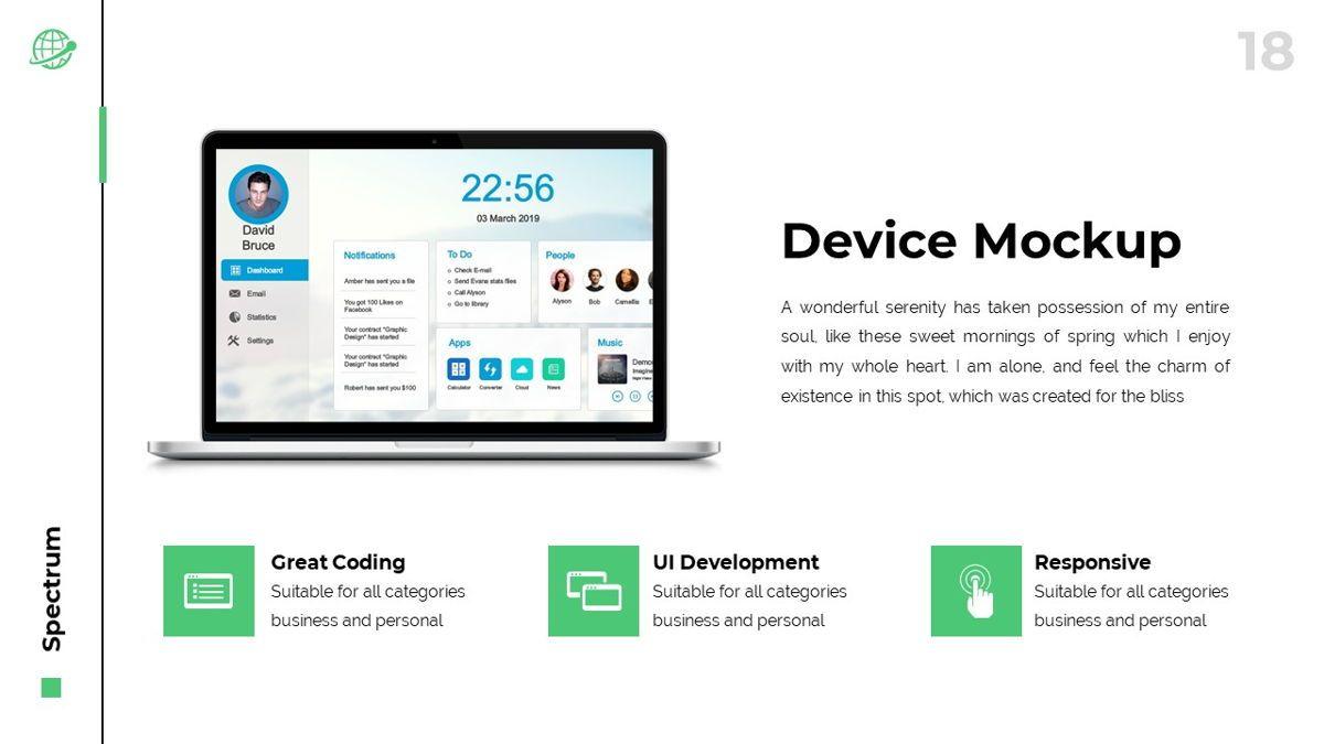 Spectrum - Corporate Powerpoint Template, Slide 19, 06276, Business Models — PoweredTemplate.com