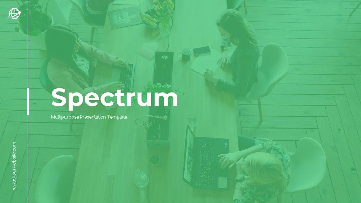 Spectrum - Corporate Powerpoint Template, Slide 2, 06276, Business Models — PoweredTemplate.com