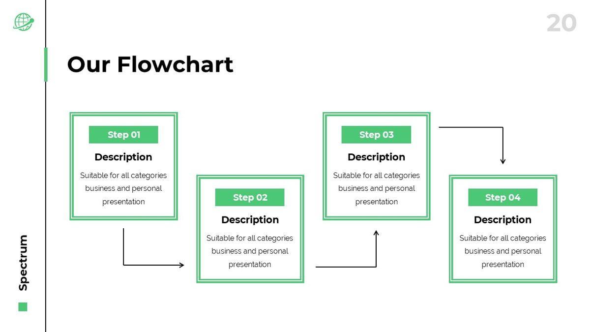 Spectrum - Corporate Powerpoint Template, Slide 21, 06276, Business Models — PoweredTemplate.com