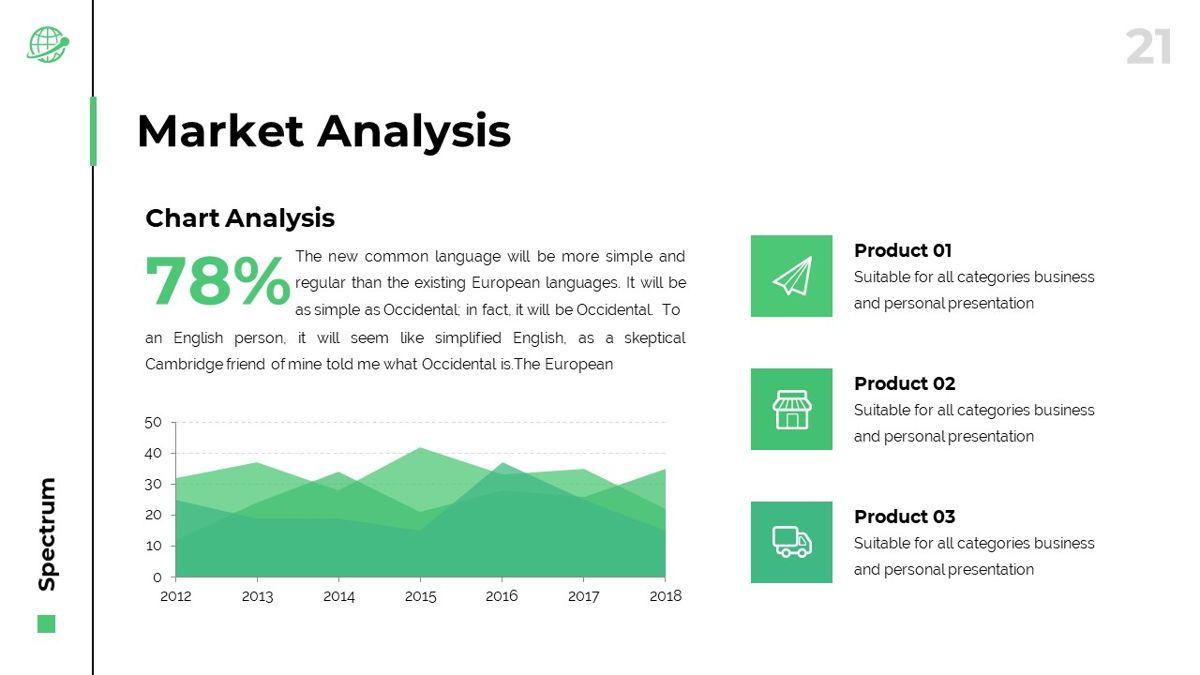 Spectrum - Corporate Powerpoint Template, Slide 22, 06276, Business Models — PoweredTemplate.com