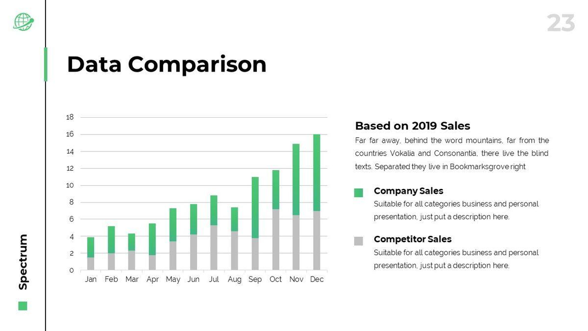 Spectrum - Corporate Powerpoint Template, Slide 24, 06276, Business Models — PoweredTemplate.com