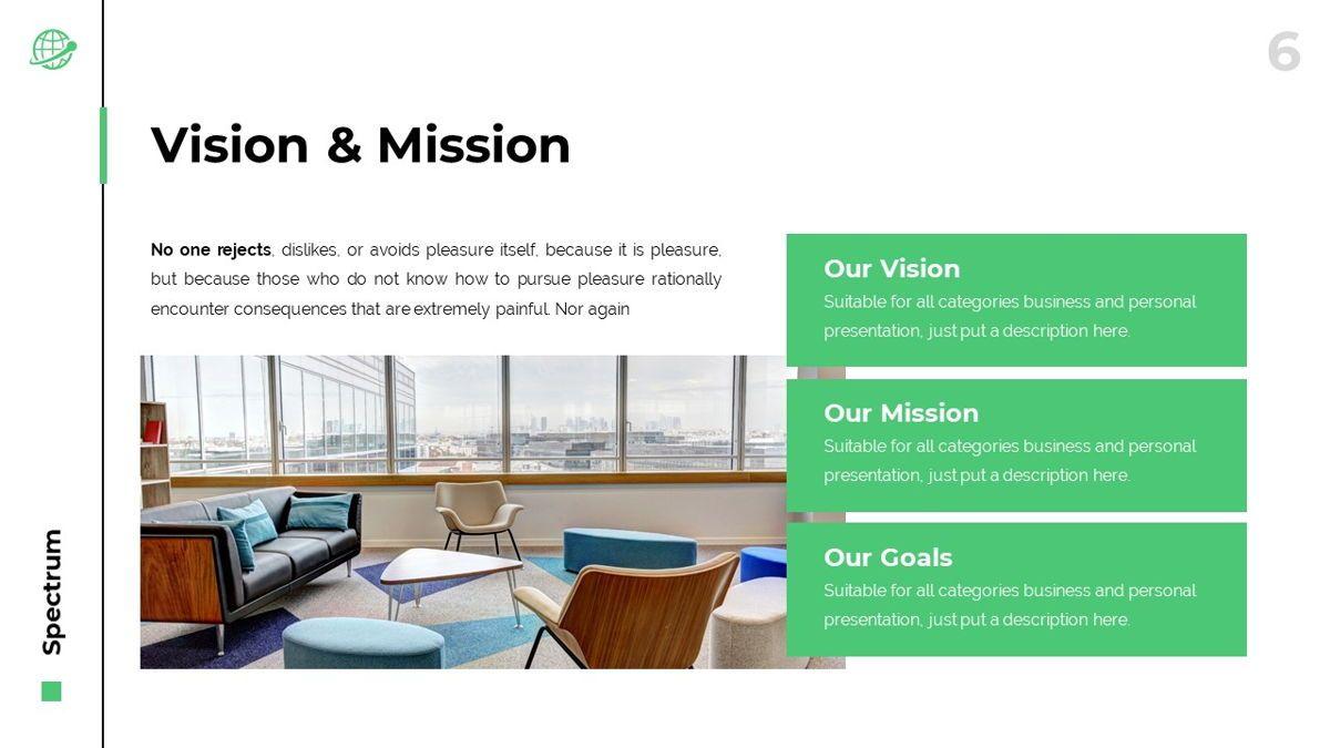 Spectrum - Corporate Powerpoint Template, Slide 7, 06276, Business Models — PoweredTemplate.com
