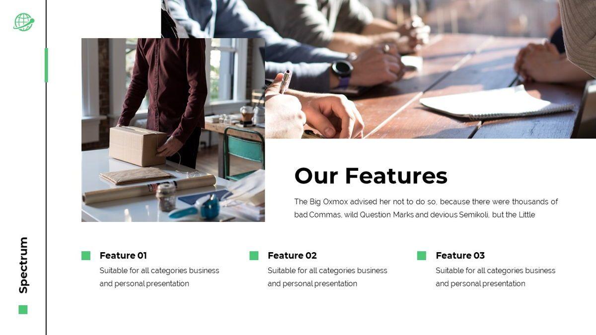 Spectrum - Corporate Powerpoint Template, Slide 8, 06276, Business Models — PoweredTemplate.com
