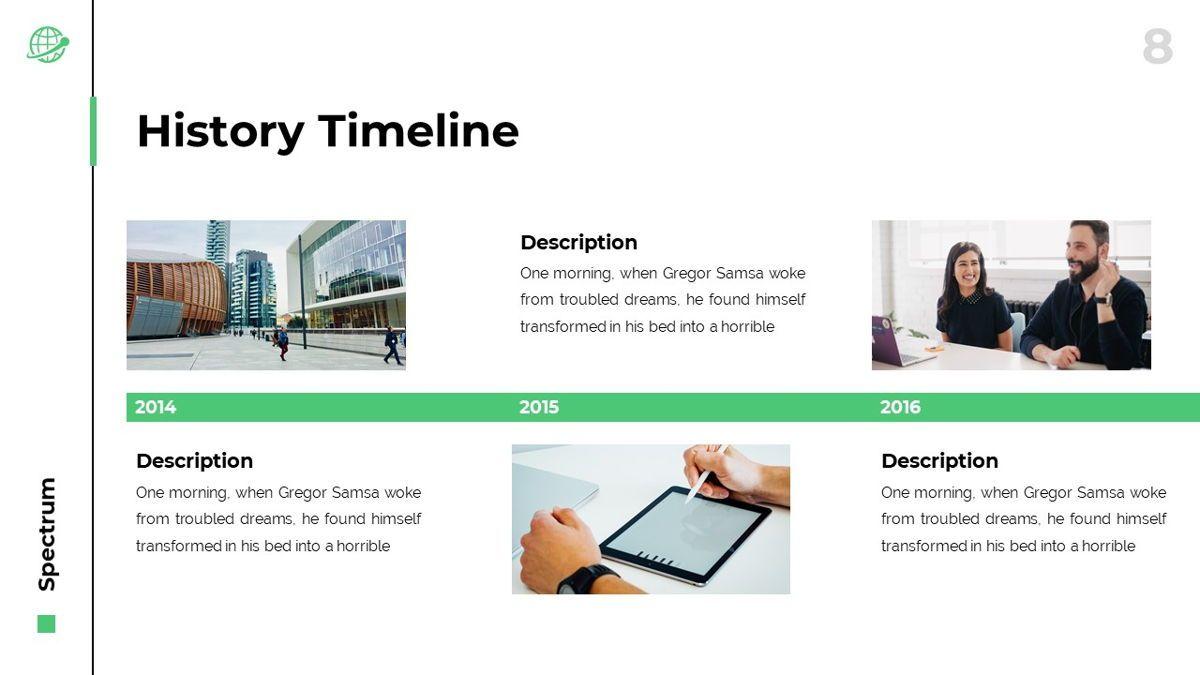 Spectrum - Corporate Powerpoint Template, Slide 9, 06276, Business Models — PoweredTemplate.com