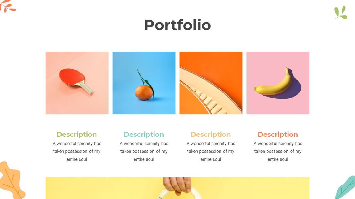 Portoda - Art Powerpoint Template, Folie 18, 06279, Business Modelle — PoweredTemplate.com