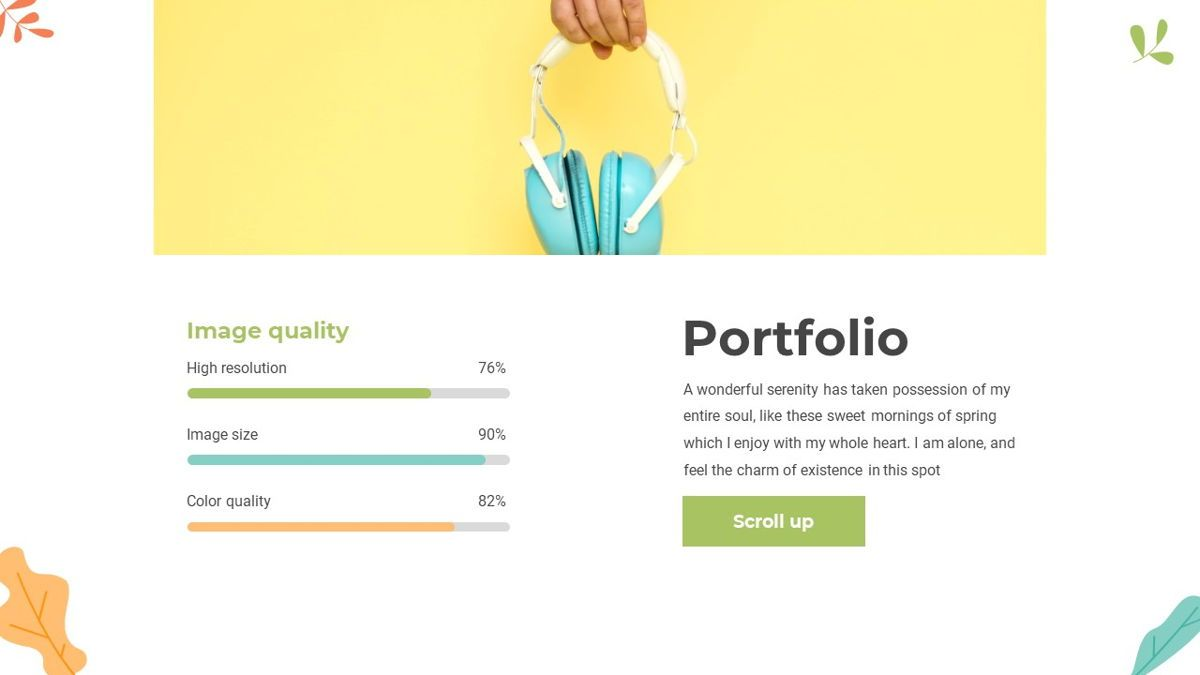 Portoda - Art Powerpoint Template, Folie 19, 06279, Business Modelle — PoweredTemplate.com