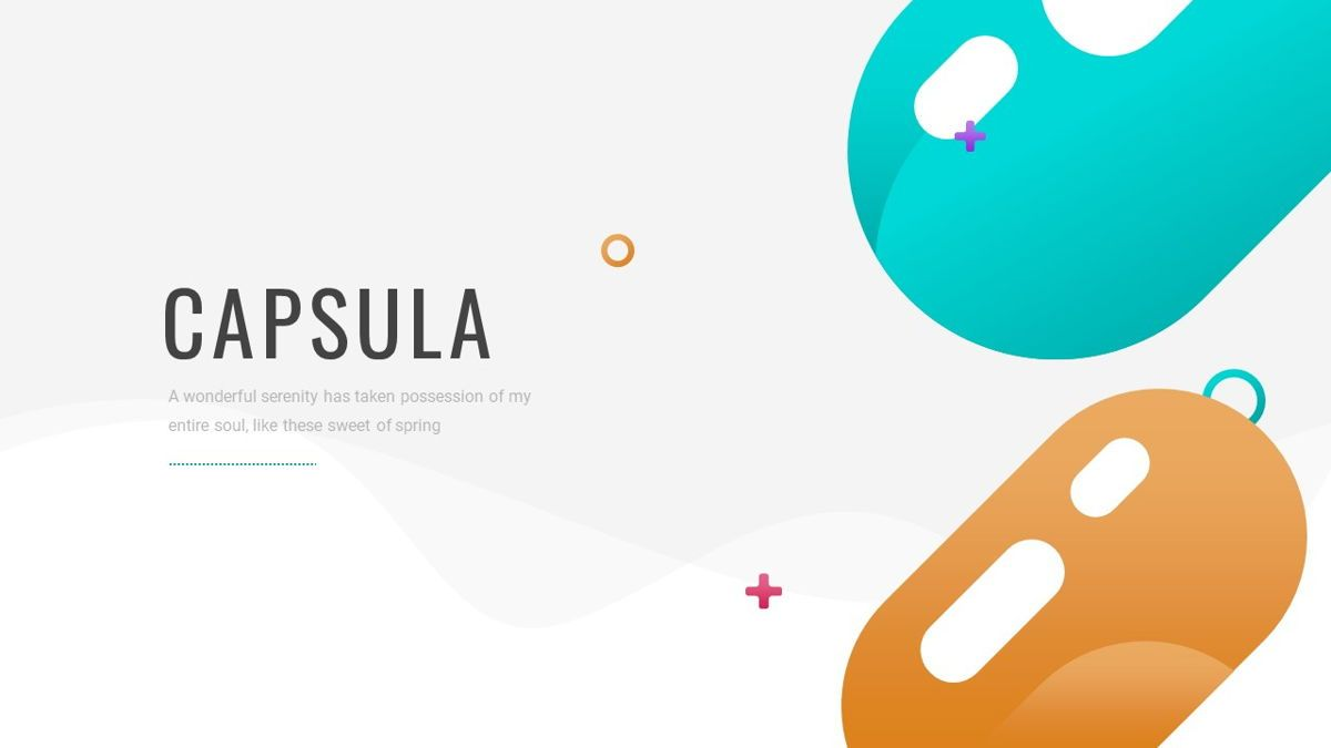 Capsula - Medicine Powerpoint Template, Slide 2, 06281, Data Driven Diagrams and Charts — PoweredTemplate.com