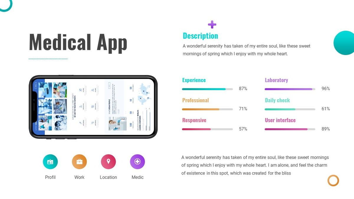 Capsula - Medicine Powerpoint Template, Slide 22, 06281, Data Driven Diagrams and Charts — PoweredTemplate.com