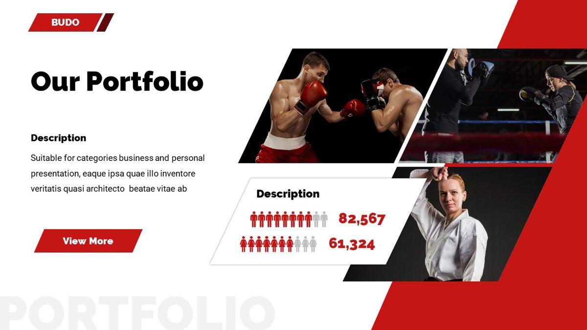 Budo - Martial Arts Powerpoint Template, Slide 19, 06283, Business Models — PoweredTemplate.com