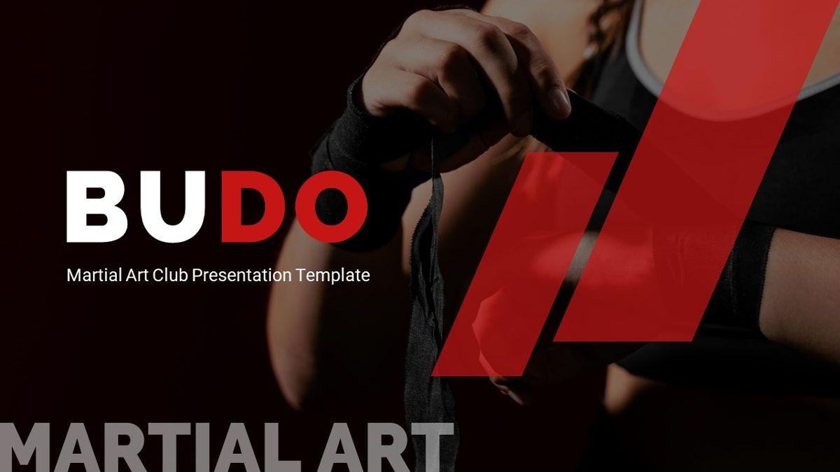 Budo - Martial Arts Powerpoint Template, Slide 2, 06283, Business Models — PoweredTemplate.com