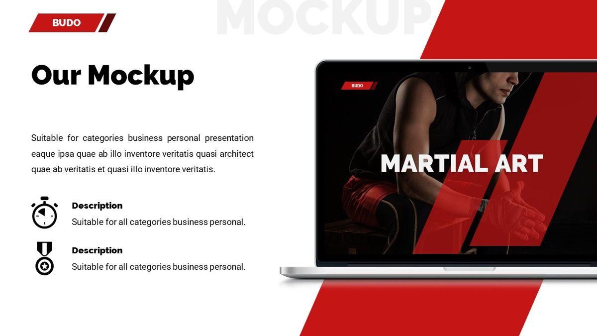 Budo - Martial Arts Powerpoint Template, Slide 20, 06283, Business Models — PoweredTemplate.com