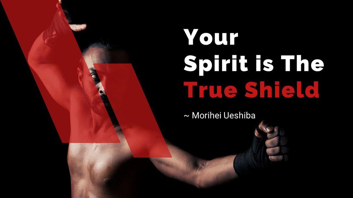 Budo - Martial Arts Powerpoint Template, Slide 22, 06283, Business Models — PoweredTemplate.com