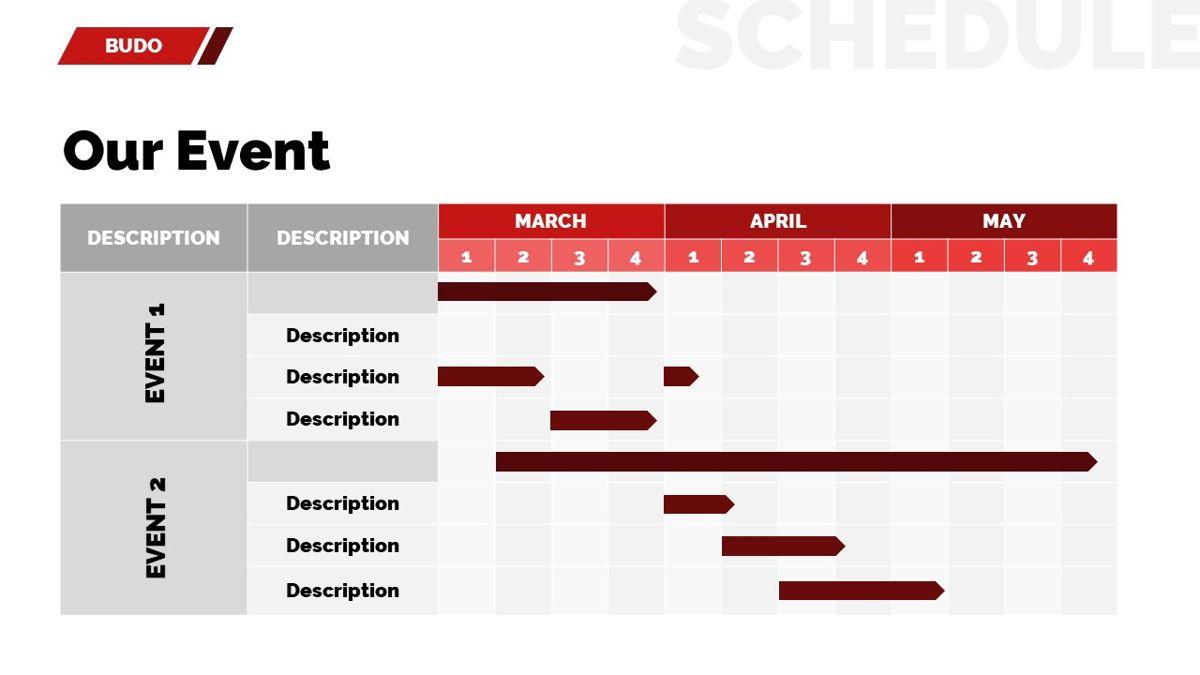 Budo - Martial Arts Powerpoint Template, Slide 26, 06283, Business Models — PoweredTemplate.com