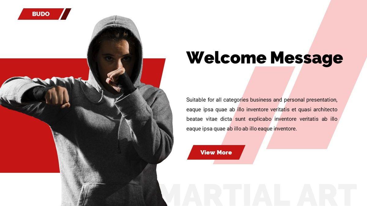 Budo - Martial Arts Powerpoint Template, Slide 3, 06283, Business Models — PoweredTemplate.com