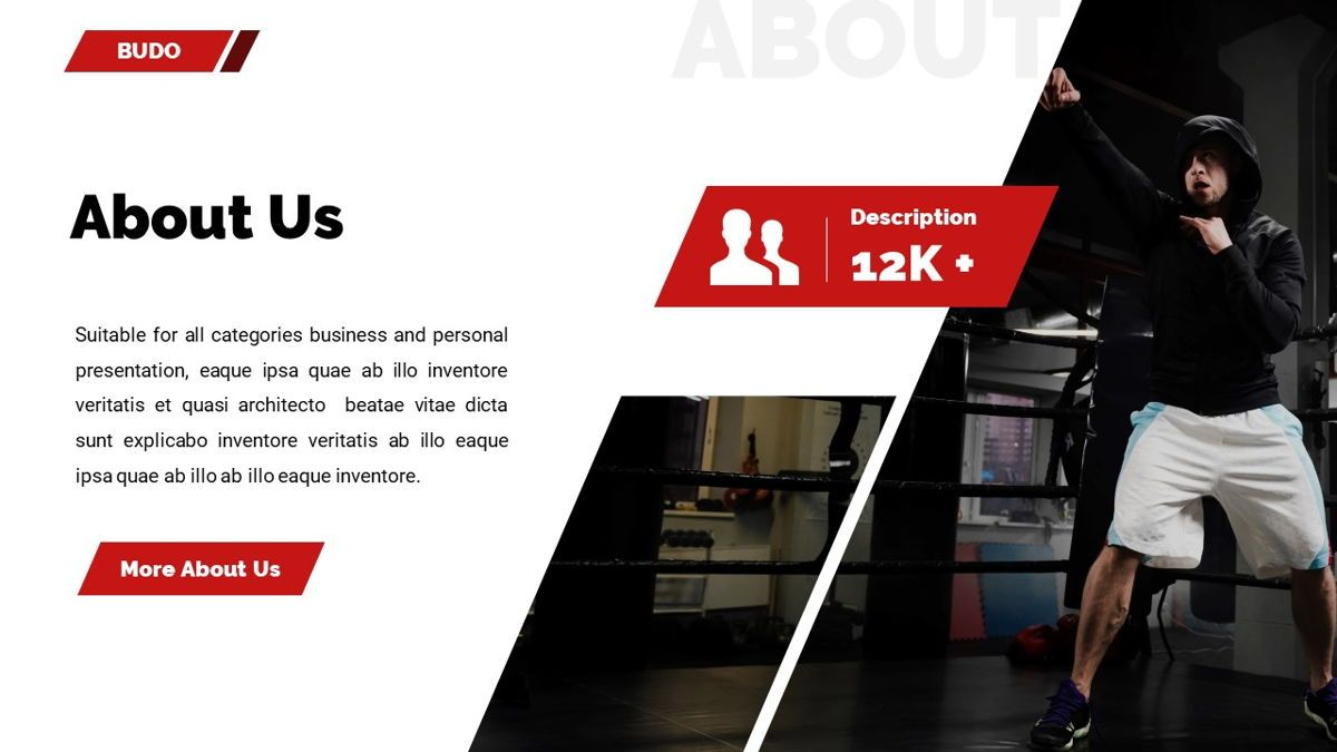 Budo - Martial Arts Powerpoint Template, Slide 6, 06283, Business Models — PoweredTemplate.com
