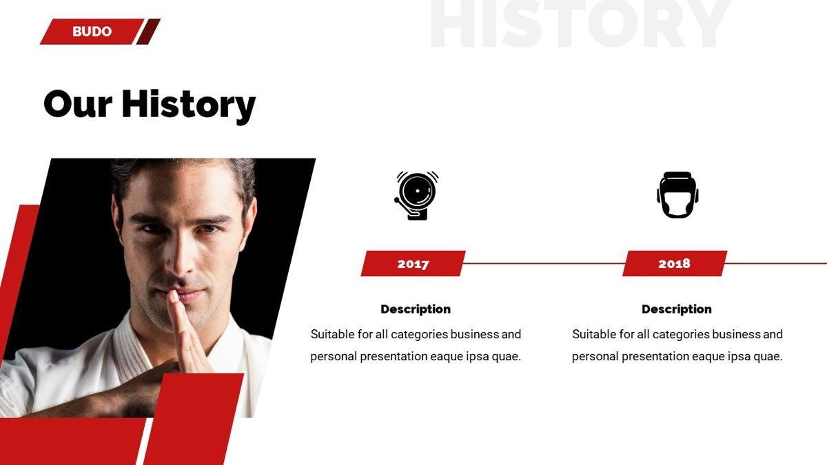 Budo - Martial Arts Powerpoint Template, Slide 9, 06283, Business Models — PoweredTemplate.com
