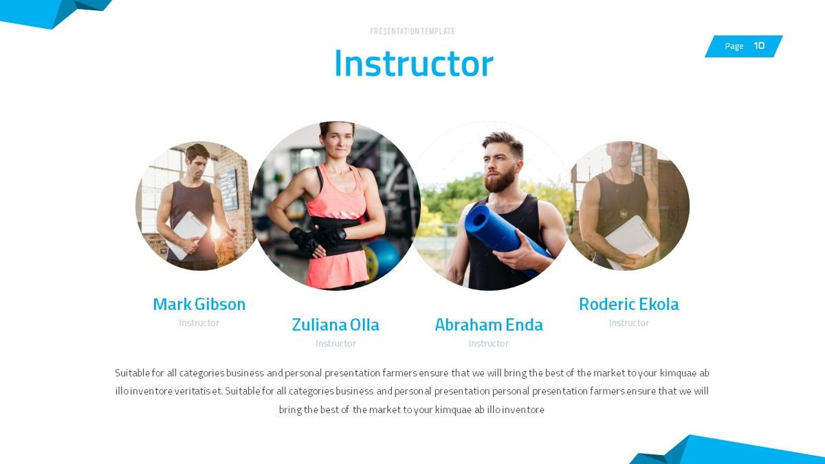 Fitrus - Sporty Powerpoint Template, Slide 11, 06285, Data Driven Diagrams and Charts — PoweredTemplate.com