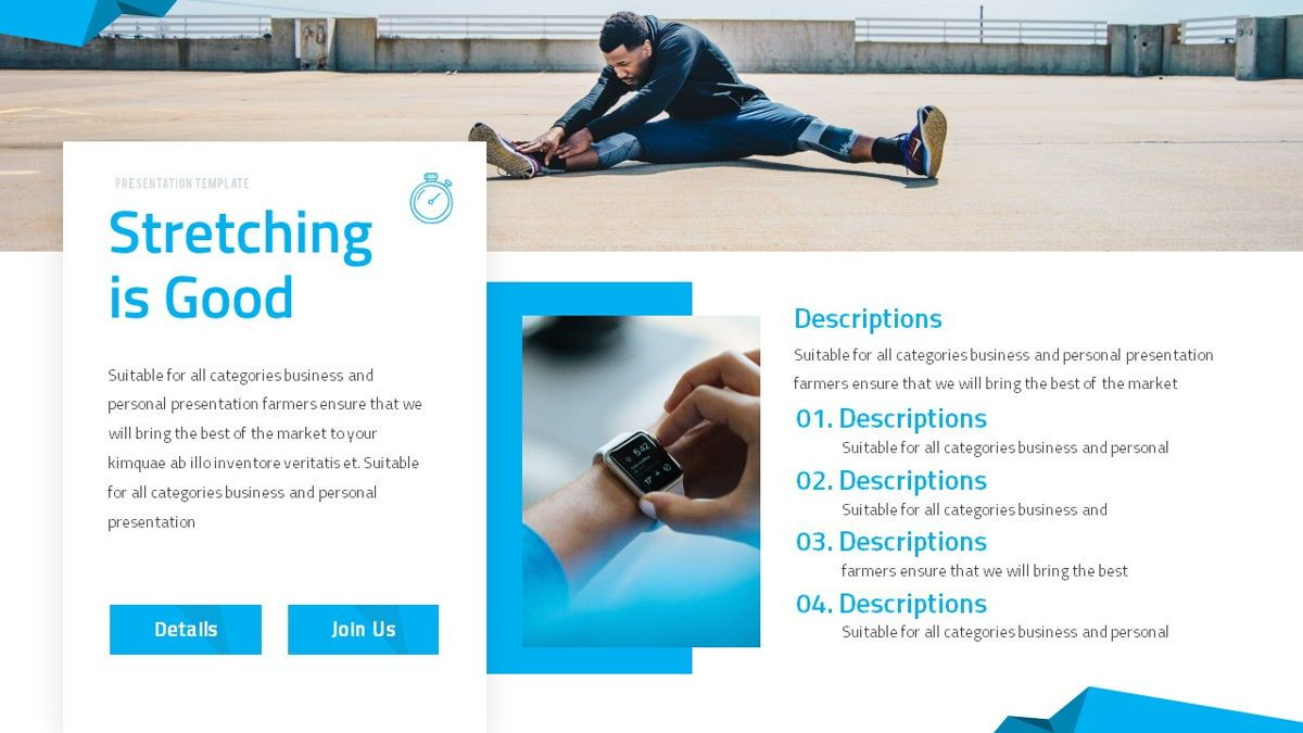 Fitrus - Sporty Powerpoint Template, Slide 16, 06285, Data Driven Diagrams and Charts — PoweredTemplate.com