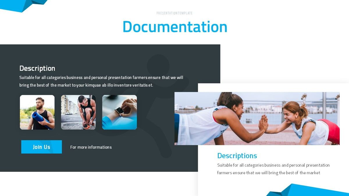 Fitrus - Sporty Powerpoint Template, Slide 17, 06285, Data Driven Diagrams and Charts — PoweredTemplate.com