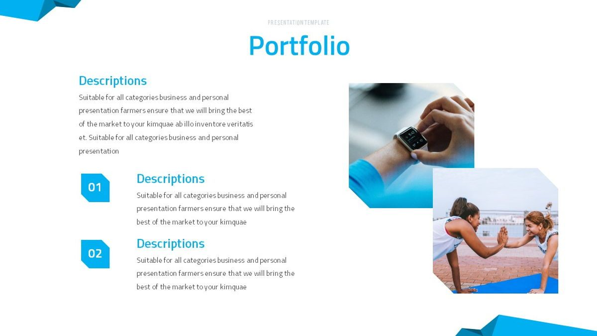 Fitrus - Sporty Powerpoint Template, Slide 18, 06285, Data Driven Diagrams and Charts — PoweredTemplate.com