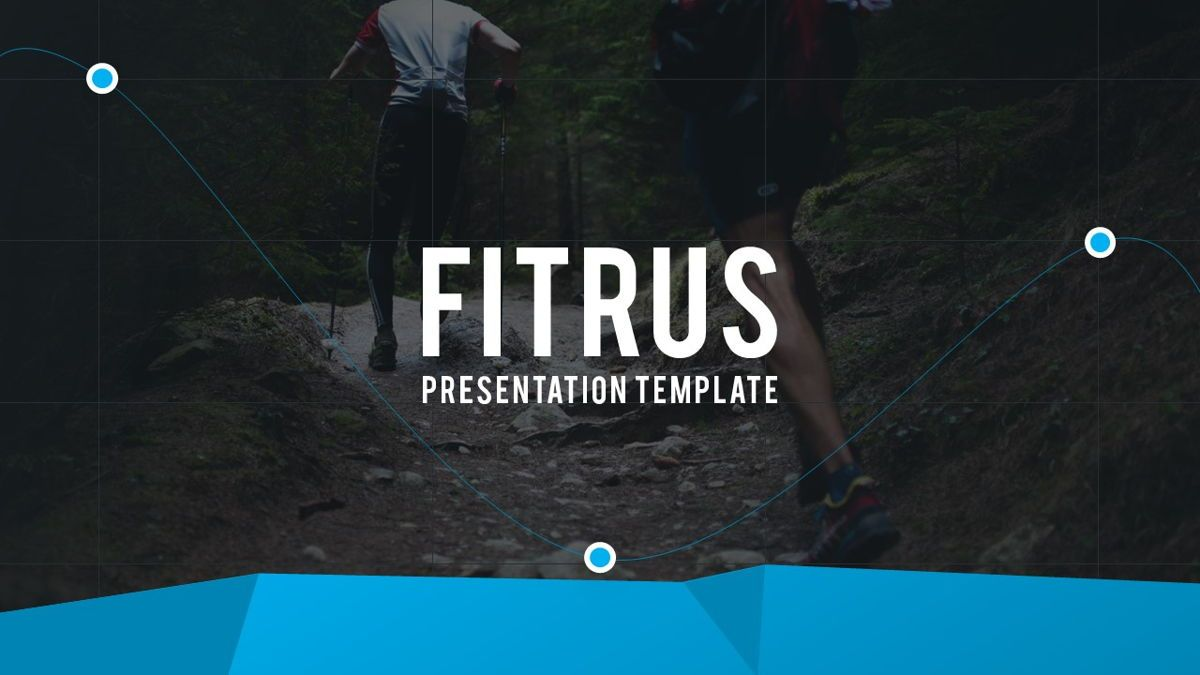 Fitrus - Sporty Powerpoint Template, Slide 2, 06285, Data Driven Diagrams and Charts — PoweredTemplate.com
