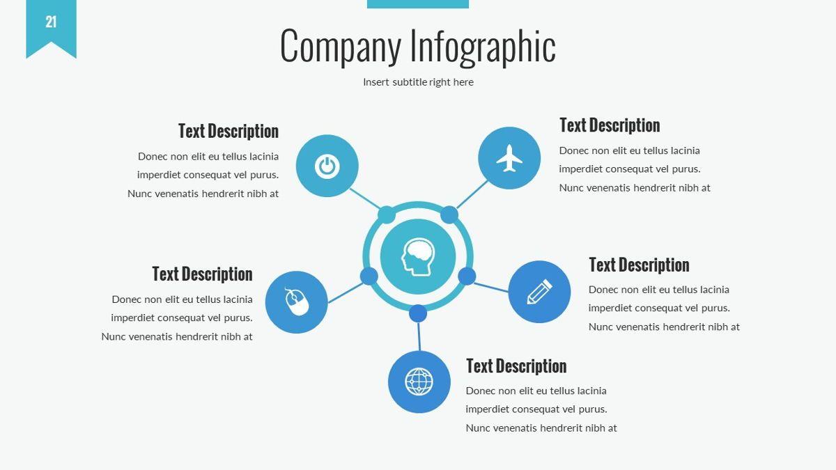 Tenebris - Corporate Powerpoint Template, Slide 22, 06287, Business Models — PoweredTemplate.com