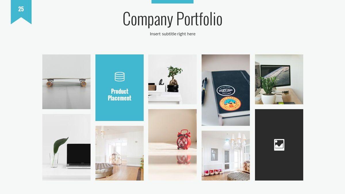 Tenebris - Corporate Powerpoint Template, Slide 26, 06287, Business Models — PoweredTemplate.com