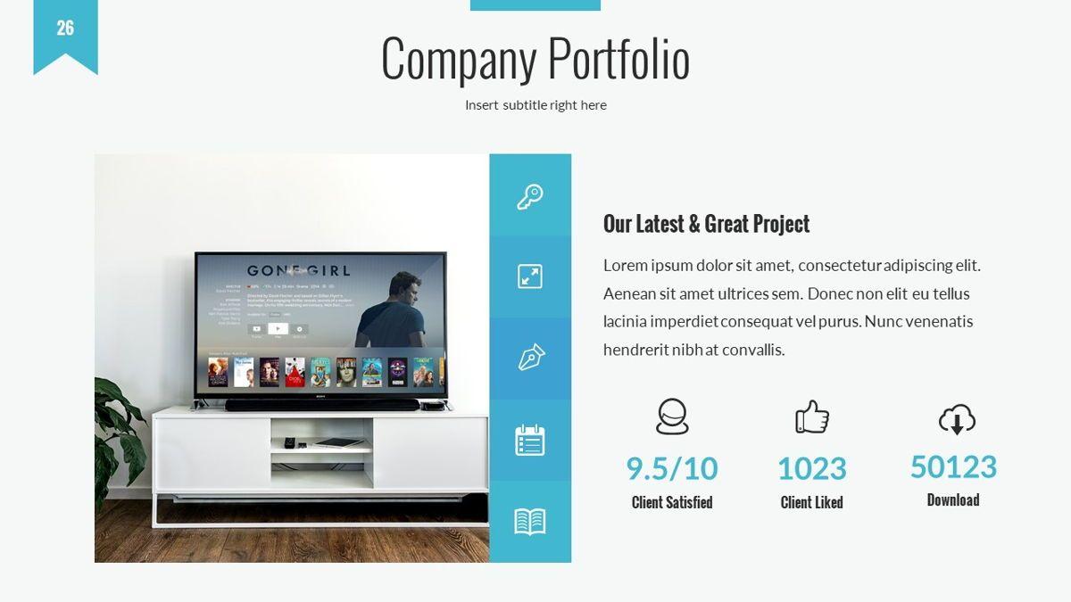 Tenebris - Corporate Powerpoint Template, Slide 27, 06287, Business Models — PoweredTemplate.com