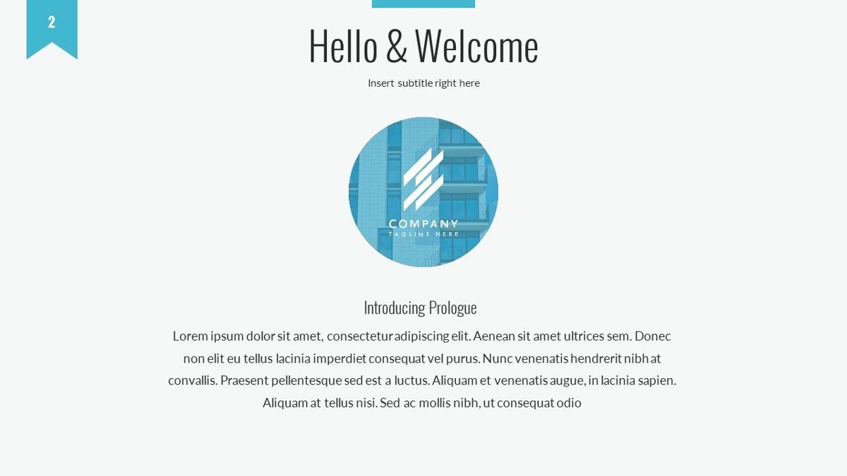 Tenebris - Corporate Powerpoint Template, Slide 3, 06287, Business Models — PoweredTemplate.com