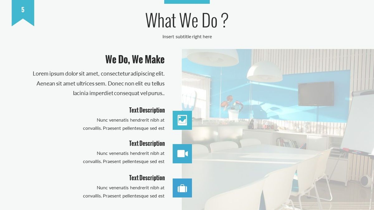Tenebris - Corporate Powerpoint Template, Slide 6, 06287, Business Models — PoweredTemplate.com