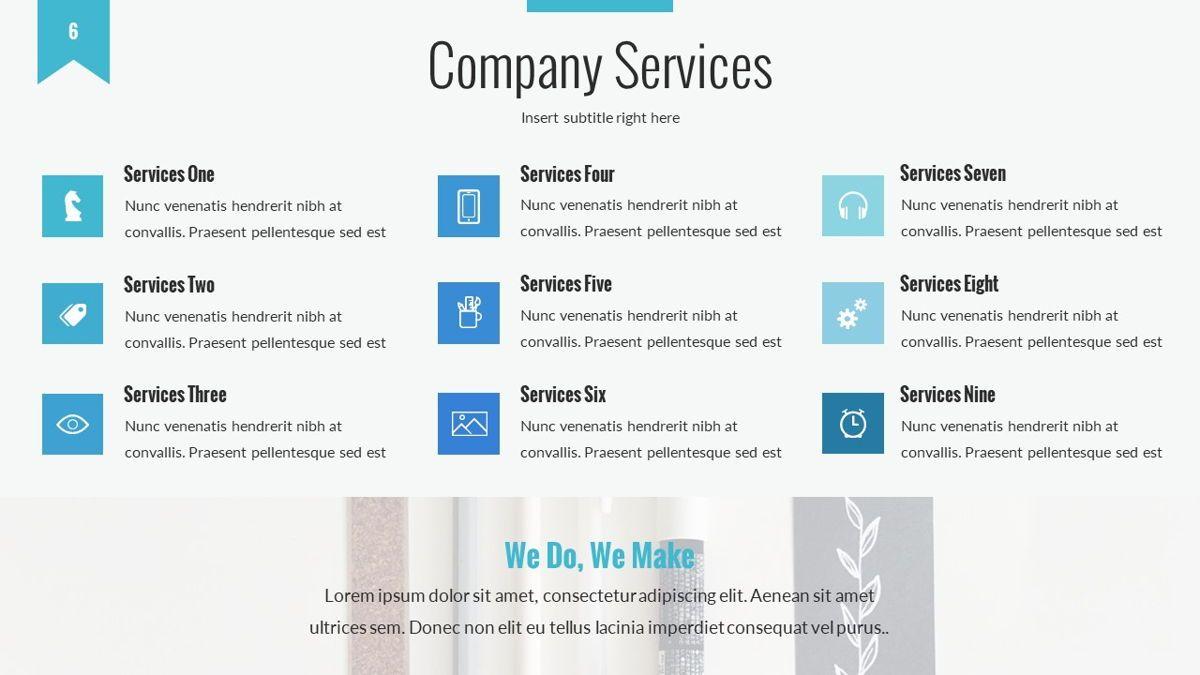 Tenebris - Corporate Powerpoint Template, Slide 7, 06287, Business Models — PoweredTemplate.com