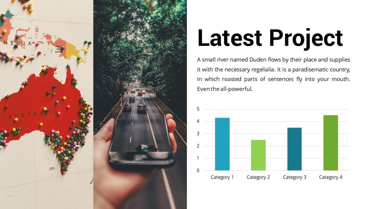 Drive - Transportation Powerpoint Template, Slide 16, 06288, Data Driven Diagrams and Charts — PoweredTemplate.com