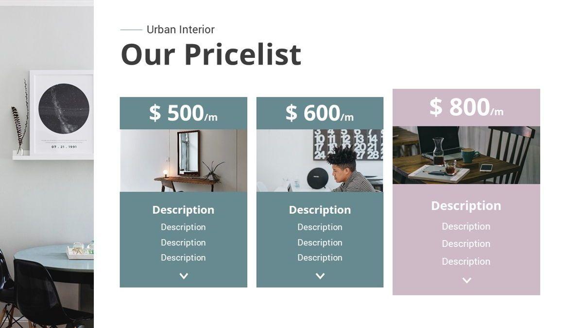 Urban - Interior Powerpoint Template, Slide 12, 06290, Business Models — PoweredTemplate.com