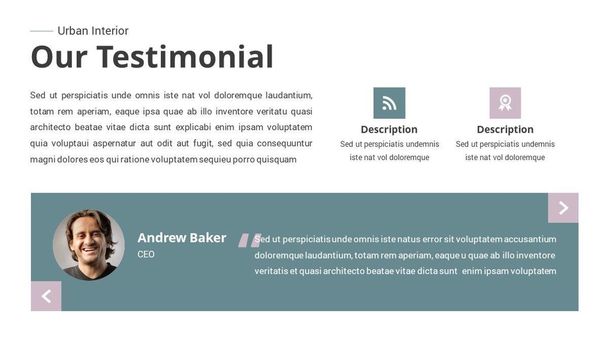 Urban - Interior Powerpoint Template, Slide 15, 06290, Business Models — PoweredTemplate.com