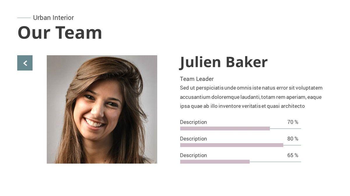 Urban - Interior Powerpoint Template, Slide 19, 06290, Business Models — PoweredTemplate.com