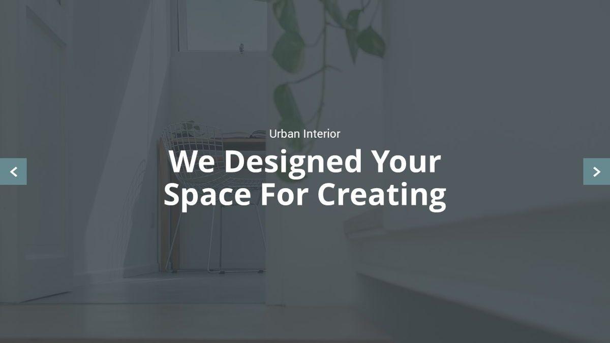 Urban - Interior Powerpoint Template, Slide 2, 06290, Business Models — PoweredTemplate.com